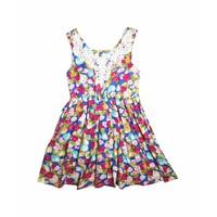 Váy lanh hoa bé gái Thái Lan 02 - Lybishop