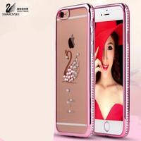 Ốp lưng iPhone 5, 5S Phượng Hoàng đính đá quanh viền