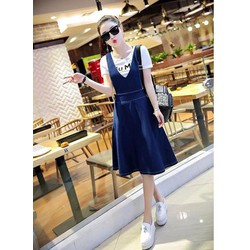 Đầm Jean Yếm Thời Trang size M, L, XL RMS00871