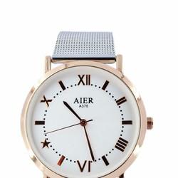 Set quà tặng Đồng hồ nam dây thép chống rỉ và đồng hồ nữ