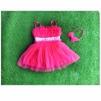 Đầm dây zara xinh hồng đậm HB260