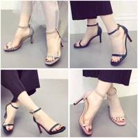 HÀNG LOẠI I - Giày sandal cao gót xinh