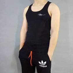 Áo ba lỗ thể thao tập gym, chạy bộ cho nam BL03A