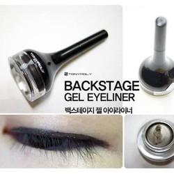 Gel kẻ mắt Tonymoly Backstage Gel Eyeliner