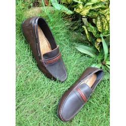 Giày mọi nam dây ngang thời trang