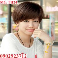 Tóc Giả Nữ Hàn Quốc Tặng Lưới - TH24