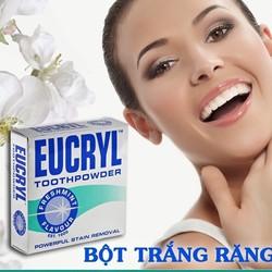 Bột làm trắng răng EUCRYL vị bạc hà