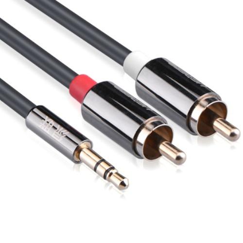 Cáp Audio 3.5 ra 2 đầu hoa sen 3 m chính hãng Ugreen 10590