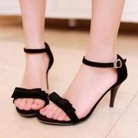 HÀNG LOẠI I - Giày cao gót nơ xinh
