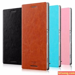 Bao da Sony Xperia M4 Aqua Mofi Leather