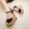 Giày đế xuồng nữ tính phong cách Korea