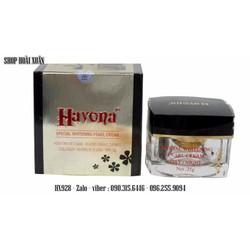 Kem tan vết nám - dưỡng trắng da mặt collagen Havona SPF30 - HX928