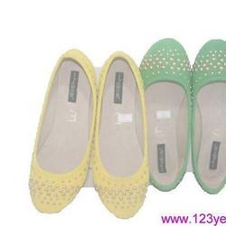 giày búp bê Hacene nạm đinh sành điệu GBB80