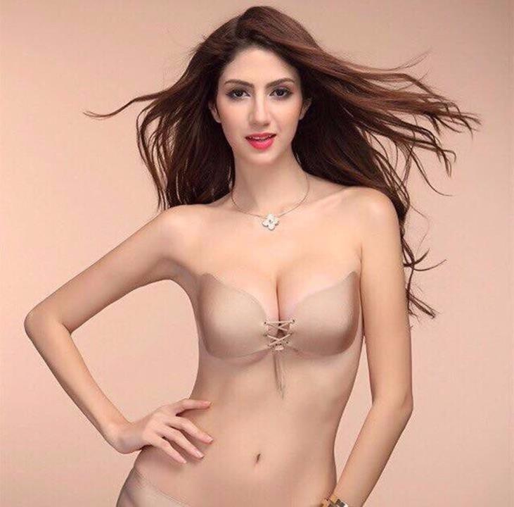 Áo ngực dán nâng ngực có dây rút 2016 2