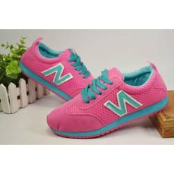 Giày thể thao N màu hồng