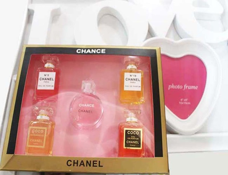 Bộ 5 chai nước hoa mini Chanel 2