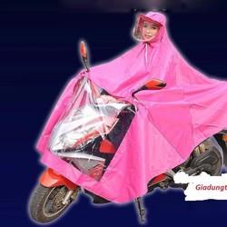 Áo mưa có kính che mặt an toàn