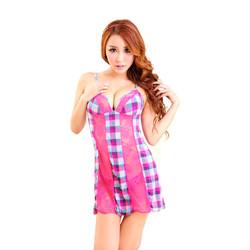 Váy Ngủ Gợi Cảm 6963 Hồng Đậm