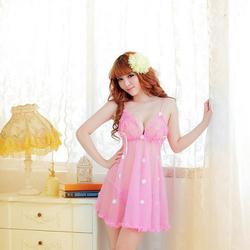 Váy ngủ hoa lưới dễ thương  M503e