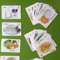 Thẻ học Flash Card cho bé 16 chủ đề gồm 416 thẻ