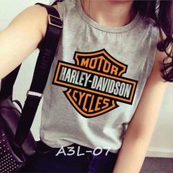 Ba lỗ thời trang Harley Davidson