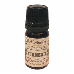 Tinh dầu nghệ Theherbalcup 5ml trị thâm mụn và sát khuẩn da hiệu quả