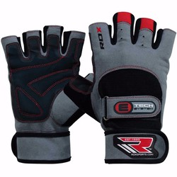 GĂNG TAY TẬP GYM RDX GYM EXERCISE LEATHER WEIGHT LIFTING GLOVES