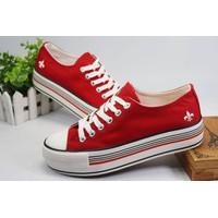 Giày bánh mì buộc dây Style Korea