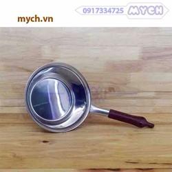 Gáo múc dầu inox cán nhựa 16cm