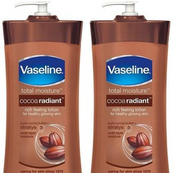 Dưỡng thể Vaseline Total Moisture Cocoa Glow