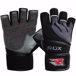 GĂNG TAY TẬP GYM RDX LEATHER GYM WORKOUT WEIGHT LIFTING GLOVES