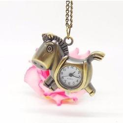 Đồng hồ dây chuyền Ngựa Con