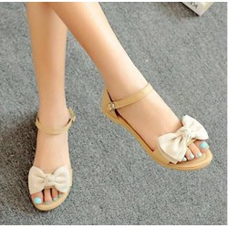 HÀNG LOẠI I - Giày sandal nơ xinh
