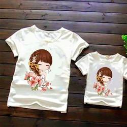 combo 2 áo thun cho mẹ và bé đủ size