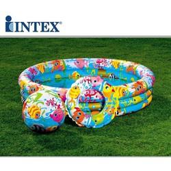 bể bơi kích thước 132*28 cm
