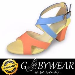 Giày Sandal Gót Vuông Nữ Nhiều Màu