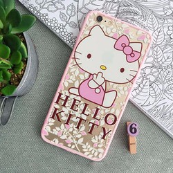 Ốp lưng iPhone 6Plus silicon mèo kitty