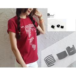 Sét bộ áo họa tiết quạt +Quần ống rộng - SETKN456