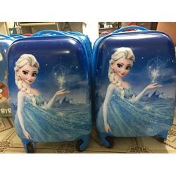 Bộ sưu tập valy kéo hình công chúa tuyết elsa dễ thương VL19