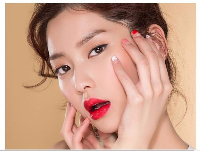 Son Missha Glam Art Rouge  #RD01 Star Ruby 2