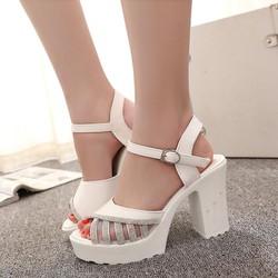 Giày cao gót kiểu dáng sang trọng phong cách thời trang - XS0276