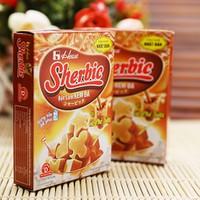 Bột làm kem đá Nhật Bản vị cà phê sữa Sherbie 46g 8936079130503