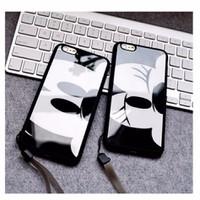 BỘ 2 ỐP LƯNG ĐIỆN THOẠI HÌNH Mickey và Minnie CHO iPhone 6