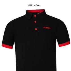 Áo thun Nam thương hiệu Hermes  thời trang cao cấp – Đen