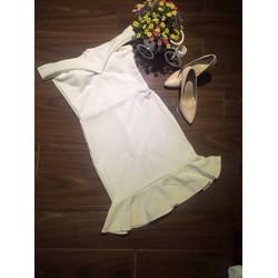 Đầm body bèo trể vai N