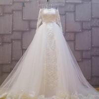 Váy cưới hiện đại 2in1