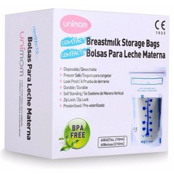 60 Túi trữ sữa Unimom 210ml - Hàn Quốc