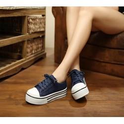 BM288X - Giày Bánh Mì Nữ dây thắt cá tính
