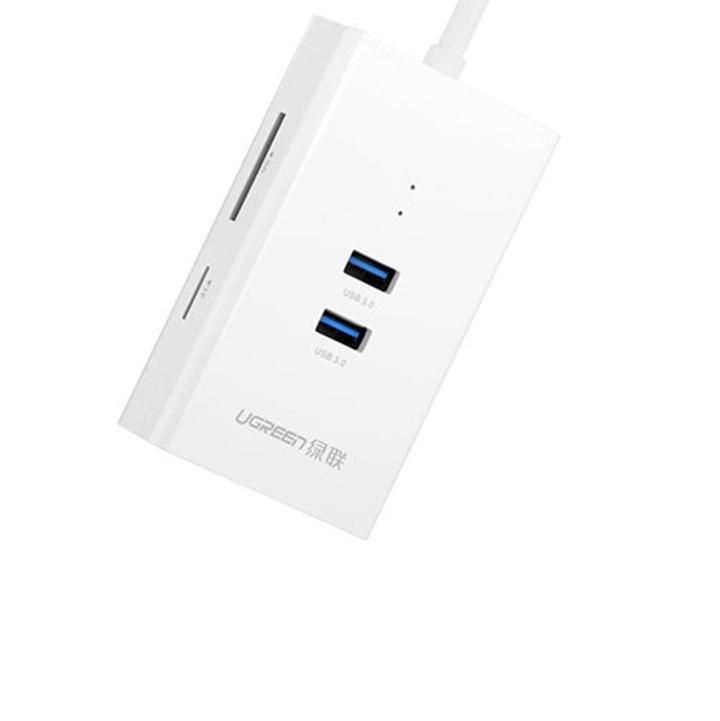 Bộ chia cổng USB 3.0 ra : 1 Lan Gigabit + 02 USB 3.0 + đầu đọc SD.TF 3
