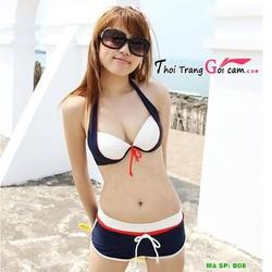 Bikini hai mảnh kèm quần short đẹp gợi cảm